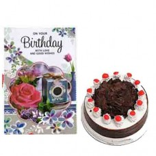 Black Forest Cake and Birthday Card